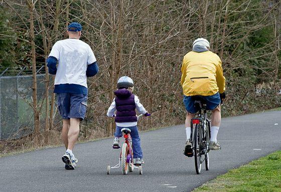 Sport. Joggen, Radfahren. Foto: Flickr/pugetsoundphotowalks