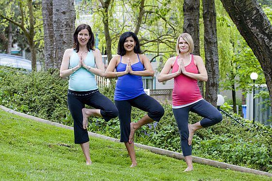 Yoga. Schwangerschaft. Foto: Flickr/lululemon athletica