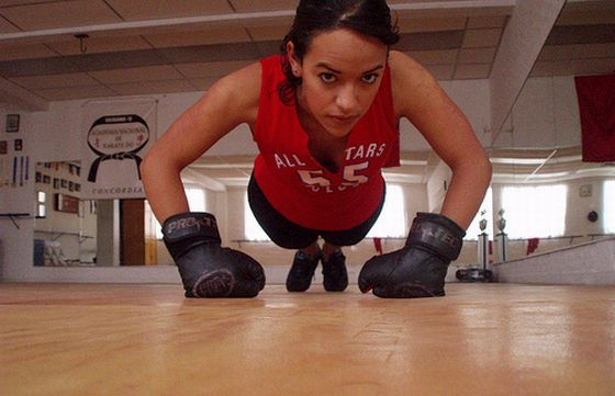 Fitnessboxen. Foto: Flickr/laradanielle