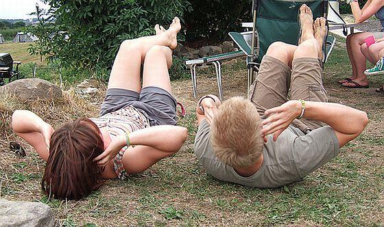 Bauchtraining. Foto: Flickr/Ben Sutherland