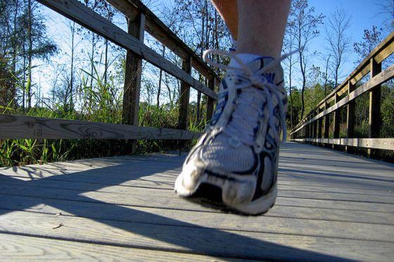 Jogge. Laufschuh. Foto: Flickr/tangywolf