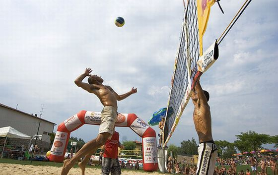 Beachvolleyball. Foto: Flickr/enricod
