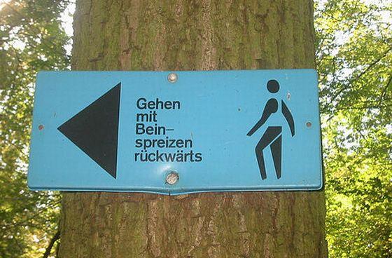 Trimm-dich-Pfad. Foto: Flickr/fihu