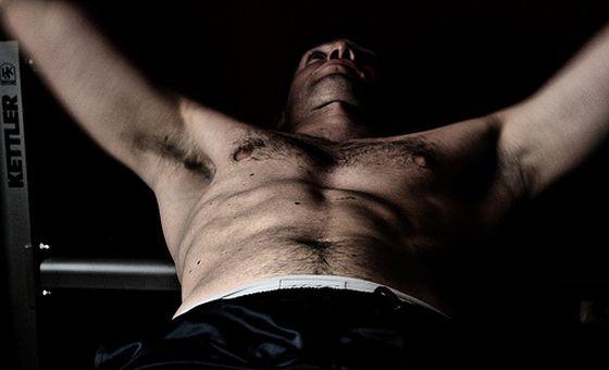 Muskeln, Bankdrücken. Foto: Flickr/siegertmarc