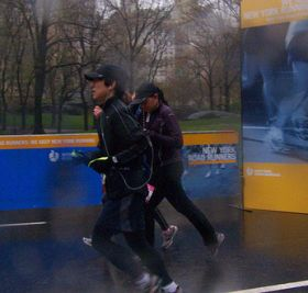 Joggen, Jogging, Regen. Foto: Flickr/smith_cl9