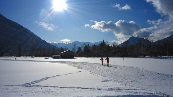Langlauf, Winter. Foto: Flickr/Oberau-Online