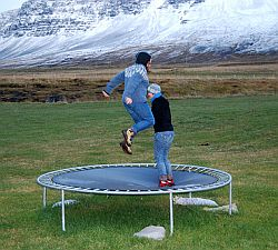 Mini Trampolin Foto: Flickr by Juliaa Fritzsdottir