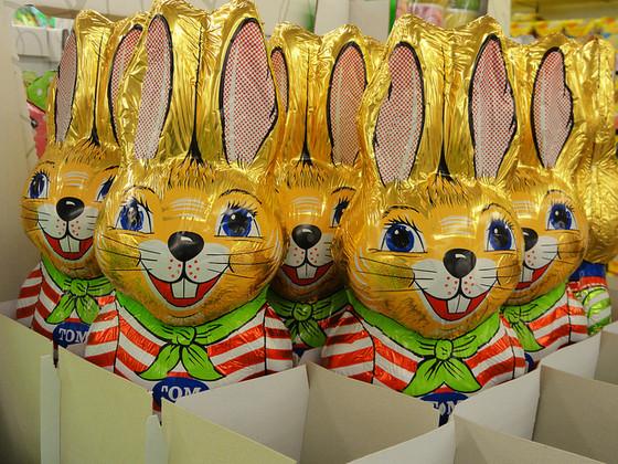 Osterhase, Schokolade. Foto: twicepix / Flickr