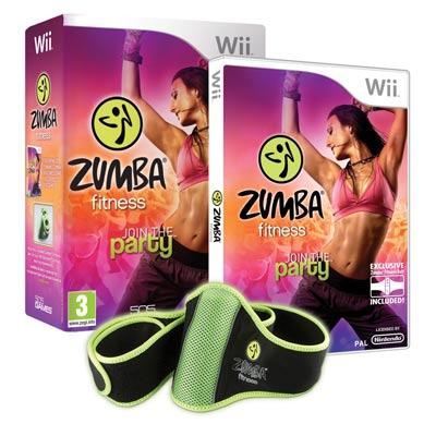 zumba fitness f r nintendo wii tanz workout im test. Black Bedroom Furniture Sets. Home Design Ideas