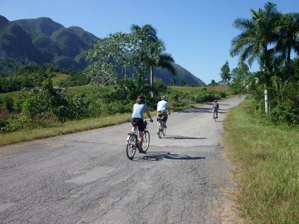Kuba auf dem Fahrrad erleben