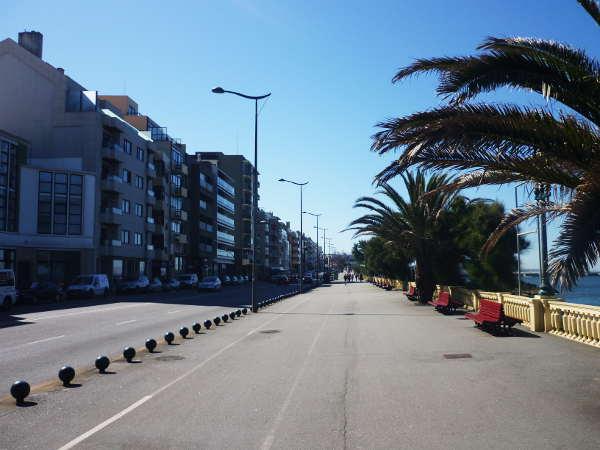 Strandpromenade in Porto