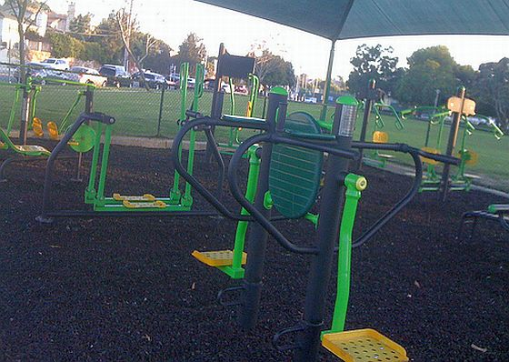 Outdoor Fitnesspark. Foto: Flickr/Urban Outbacker