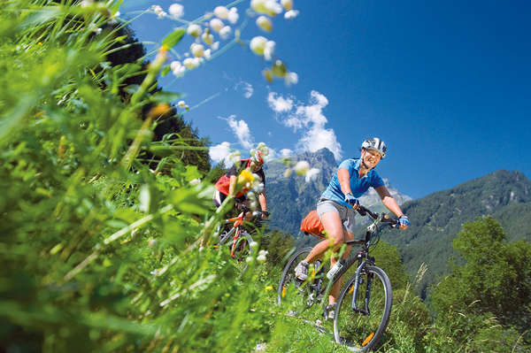 mountainbike in den alpen cc Hotel Linde / Flickr